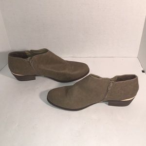 🎉SALE 2/$50 3/$60 Mossimo Taupe Ankle Boots sz 11
